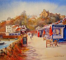 Summer by the harbour - Folkestone by Beatrice Cloake Pasquier