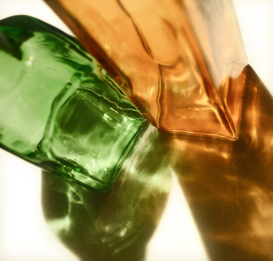 Glass Bottles by Michael  Herrfurth