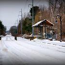 Snow Bound in New England by Monica M. Scanlan
