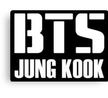 BTS/Bangtan Boys - Jungkook Canvas Print