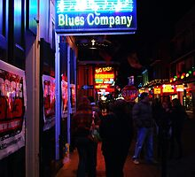 Bourbon Street  Blues Company by Mattie Bryant