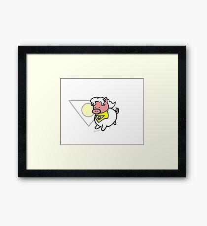 Apollo Pig! Framed Print