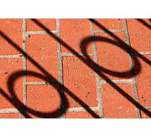Notes on brick Photographic Print