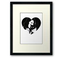 Danzig <3s Kitties Framed Print