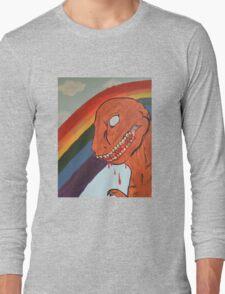 Happy Dino Long Sleeve T-Shirt