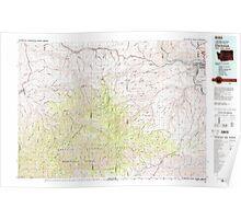 USGS Topo Map Washington Clarkston 240546 1981 100000 Poster