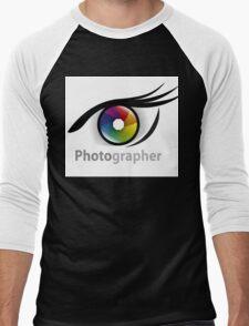 Photographer community Men's Baseball ¾ T-Shirt
