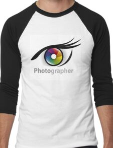 Photographer community Men's Baseball ¾ T-Shirt