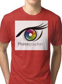 Photographer community Tri-blend T-Shirt