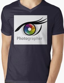 Photographer community Mens V-Neck T-Shirt