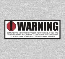 Onision Warning Label by onision
