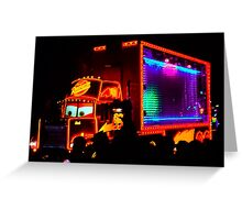 Mac Paint The Night Greeting Card