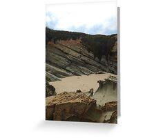 Sea Cliffs. Greeting Card