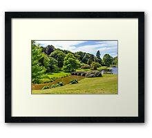Stourhead House Framed Print