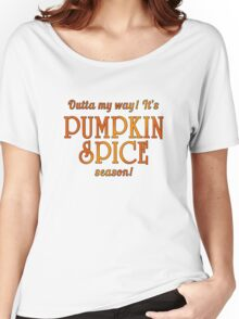 PUMPKIN SPICE Humor Women's Relaxed Fit T-Shirt
