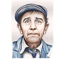 Sir Norman Wisdom OBE Poster