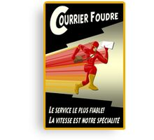 Lightning Courier Canvas Print