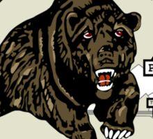 Bruin Oil Sticker