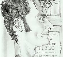 '10th Doctor' gourmet caricature by Sheik by sheik1
