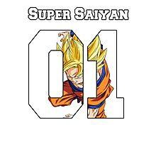 super saiyan Photographic Print