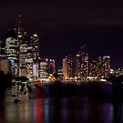 Colour in the Brisbane River  by Peter Doré