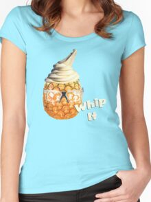 Pineapple Whip It Women's Fitted Scoop T-Shirt