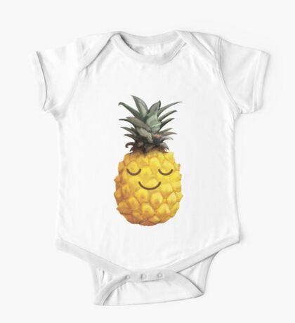 Sweet Pineapple One Piece - Short Sleeve