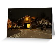 Magical  Barn Greeting Card