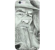 'Gandalf' gourmet caricature by Sheik iPhone Case/Skin