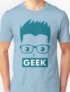 Man Woman Geek Unisex T-Shirt