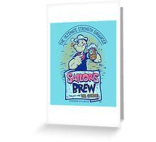 Sailor's Brew Greeting Card