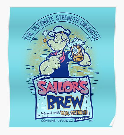 Sailor's Brew Poster