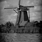 Windmill at Kinderdijk by vdgun
