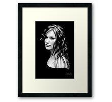 A Look...  Framed Print