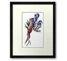 mr. pointy Framed Print