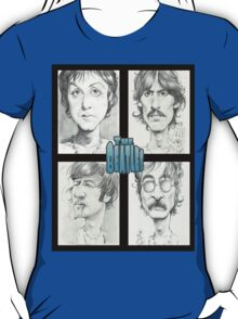 'The Beatles' gourmet caricatures by Sheik T-Shirt