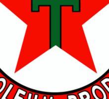 Texaco Oil Shirt Sticker