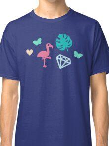 Miami Beach Pastels Pattern Classic T-Shirt