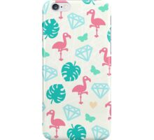 Miami Beach Pastels Pattern iPhone Case/Skin