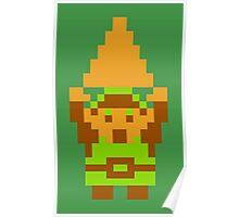 Legend of Zelda: Triforce of Courage Poster