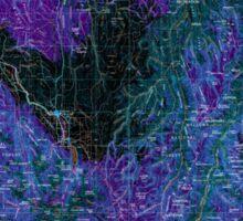 USGS Topo Map Idaho Grangeville 239640 1955 250000 Inverted Sticker