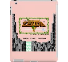 Legend of Zelda: Start Screen iPad Case/Skin