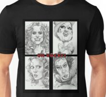 'Rocky Horror' gourmet caricatures by Sheik Unisex T-Shirt