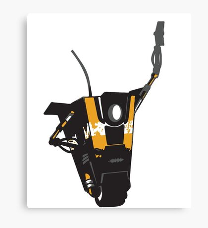 CLAPTRAP HIGH FIVE Canvas Print