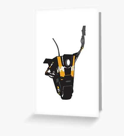 CLAPTRAP HIGH FIVE Greeting Card