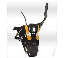 CLAPTRAP HIGH FIVE Poster