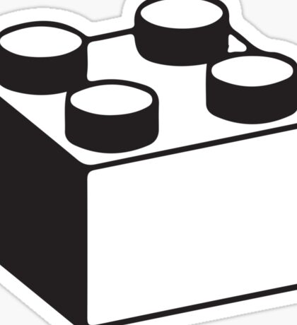 LEGO BLOCK Sticker