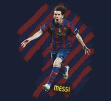 Lionel Messi #1 One Piece - Short Sleeve