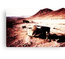 Carnage in the Desert Canvas Print