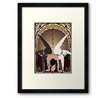 Castiel Nouveau Framed Print